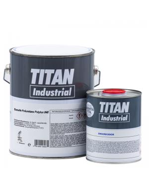 Titan Industrial Poliuretano Suelos Polylux 840 Titan 4 L