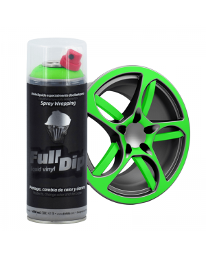 FULL DIP Vaporisateur Full Dip Spray Fluorescent Liquide Vinyle 400 mL