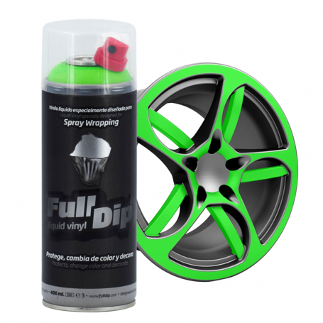 FULL DIP Spray Full Dip Fluorescente Vinilo Líquido 400 mL