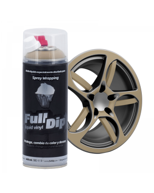 FULL DIP Spray Full Dip Militar Vinilo Líquido 400 mL