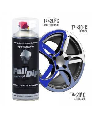 FULL DIP Spray Termocromático Vinilo Líquido Full Dip 400 mL
