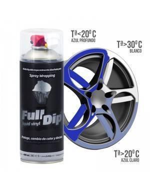 Liquide de vinyle à vaporiser thermochromique FULL DIP 400 ml