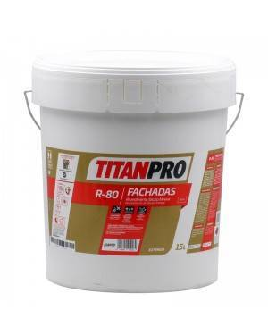 Titan Pro Silicate tinta mineral mate branco 15L R80 Titan Pro