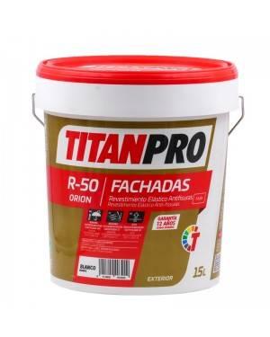 Titan Pro Revestimiento antifisuras elástico Blanco mate 15L R50 Titan Pro
