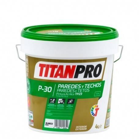 Titan Pro Acrylic paint TP23 Matt white P30 Titan Pro