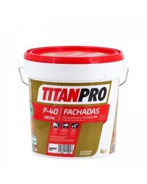 Titan Pro Pintura acrílica Premium A4 Blanco mate P40 Titan Pro