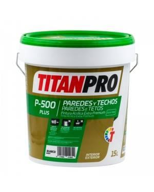 Titan Pro Peinture acrylique extra premium blanche mate P500 Titan Pro