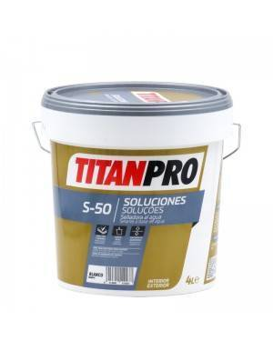 Titan Pro Selladora penetrante al agua blanca mate S50 Titan Pro
