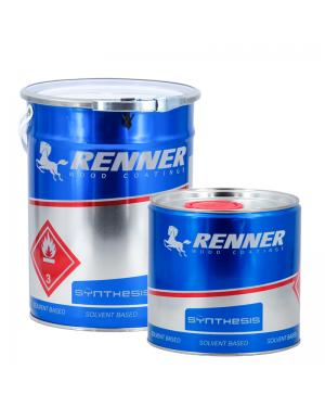 Renner Italia Lack weiß Polyurethan Renner 5 Kg + Katalysator