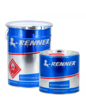 Renner Italia Lacquer Polyurethane Colorless Renner 5L + Catalyst