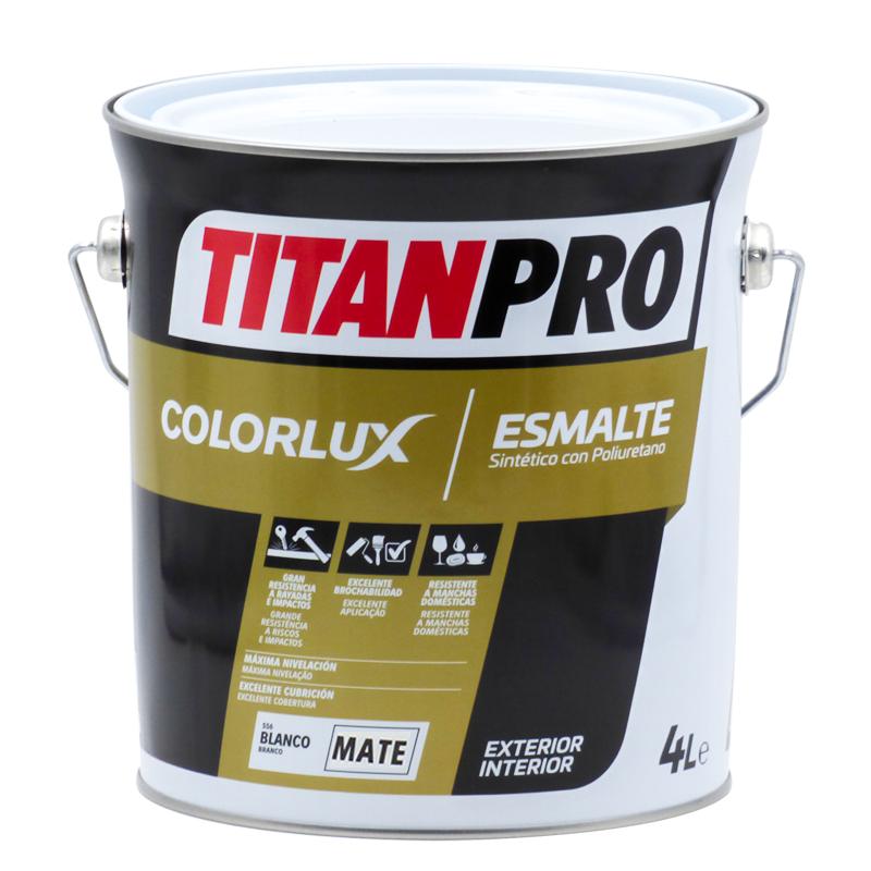 Titan Pro Synthetic enamel with PU Colorlux matt Titan Pro