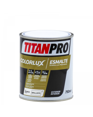Titan Pro Synthetic enamel with bright Colorlux PU Titan Pro