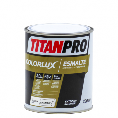 Titan Pro Synthetic enamel with Colorlux satin PU Titan Pro