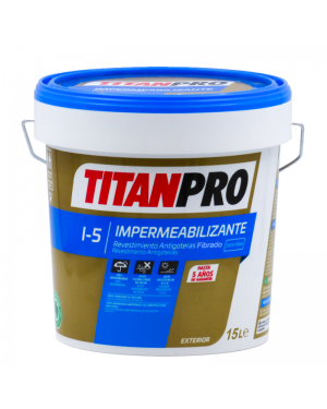 Titan Pro Revestimiento antigoteras I5 fibrado Titan Pro