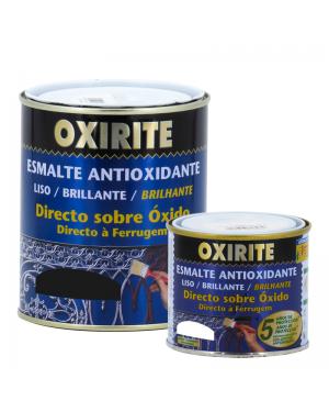 Xylazel Esmalte Antioxidante Oxirite Liso Brillante Blanco-Negro