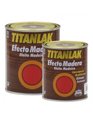 Titan laca efeito de madeira Titanlak