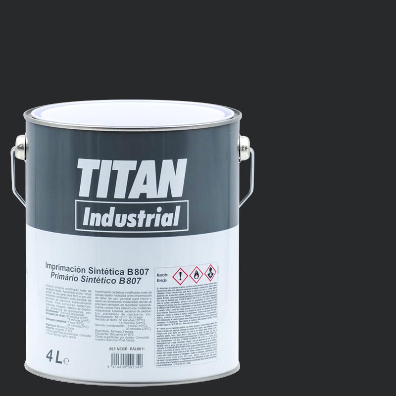 Titan Industrial Imprimación sintética 807 4 L Titan