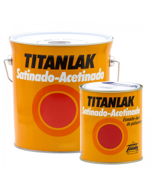 Titan Esmalte-Laca poliuretano satinada Titanlak