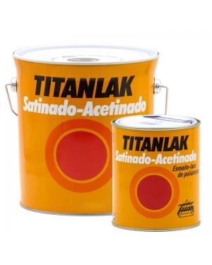 Titan Envernizado-Cetim Poliuretano Laca Titanlak