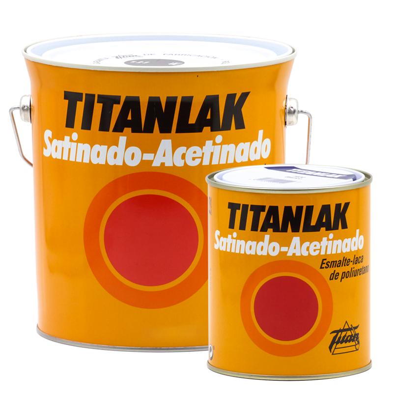 Titan Lacca in poliuretano satinato smalto-satinato