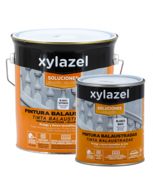 Xylazel Painting white matt balustrades Xylazel