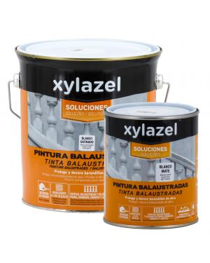 Xylazel Malerei Balustraden weiß satiniert Xylazel