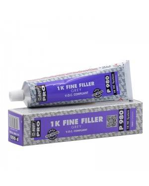 HB BODY 1K Fine Filler P980 Gray Body 150 g