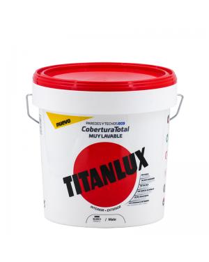 Peinture en plastique blanche Titan Titanlux Couverture totale