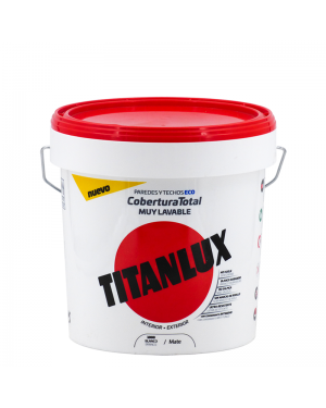 Titan White Plastic Painting Titanlux Full Coverage