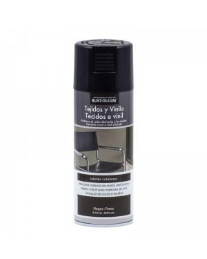 Rust-Oleum Spray Tejidos y Vinilo Negro Rust-Oleum 400 mL