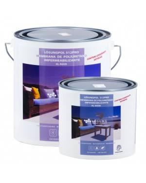 Lösung Membrana Poliuretano al Agua 512 Pro Lösung