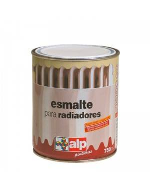 Tinta Alp Tinta para radiadores cetim branco 750 mL Alp