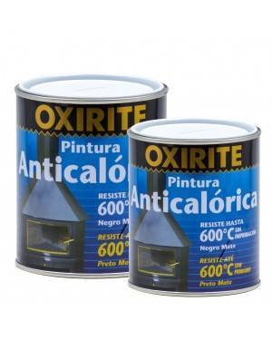 Xylazel Anticaloric Paint Matt Black 600ºC Oxirite