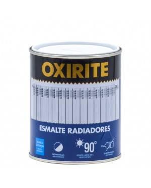 Radiateurs en émail xylazel, oxirite blanche, 750 ml