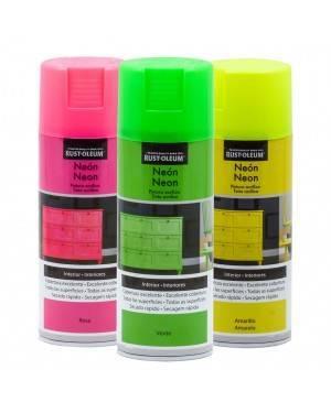 Spray Oleoso-Rustum Neon Rust-Oleum 400 mL
