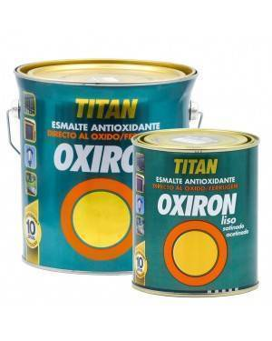 Titan Oxiron Antioxidant Emaille Glatter Satin Schmiedeeffekt