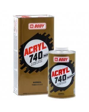 HB BODY Acrylic 740 solvant pour le corps