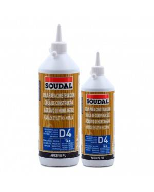 Soudal Cola de poliuretano D4 Soudal