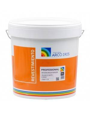 Arcoiris Paintings Rainbow White Plain Lining 15 L