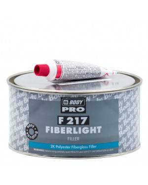 HB BODY Filler Polyester Fiberlight F217 Corps 1 L