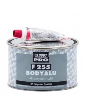HB BODY Polyester Mastic Aluminium 255 Corps 1 kg