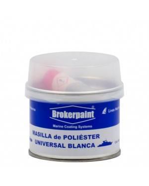 Brokerpaint Masilla de poliéster universal blanca Brokerpaint