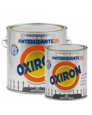 Titan Esmalte antioxidante Titan Oxiron al agua Liso Efecto Forja
