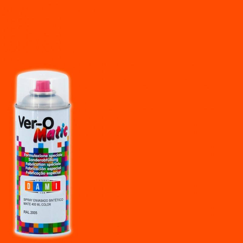 Paints Dami Spray Synthetic Fluorescent Matte 400 ML