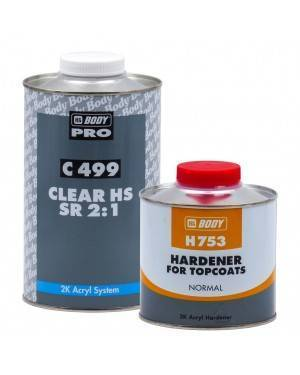 HB BODY Varnish 2K Auto Clear HS 499SR HBBody