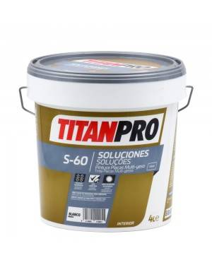 Titan Pro Assiettes de métallisation pour peinture, blanc mat S60 Titan Pro