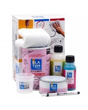 Blatem Pinta Slate Kit Marcador de Tinta Etiqueta Blatem
