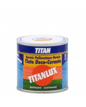 Titan Professional Varnish Polyurethane Dye to satin water 500ML