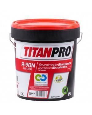 Titan Pro Rivestimento acrilico Bianco Bio-sostenibile R90N 15L Titan Pro