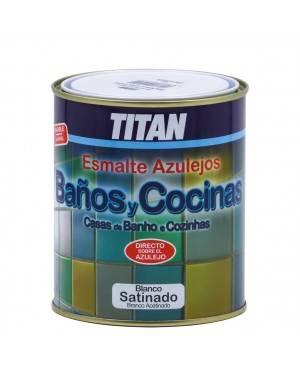 Titan Pintura para azulejos Baños y Cocinas Titan 750 ML